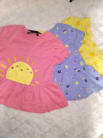 летни блузки, тениски  2/3 г и клинчета