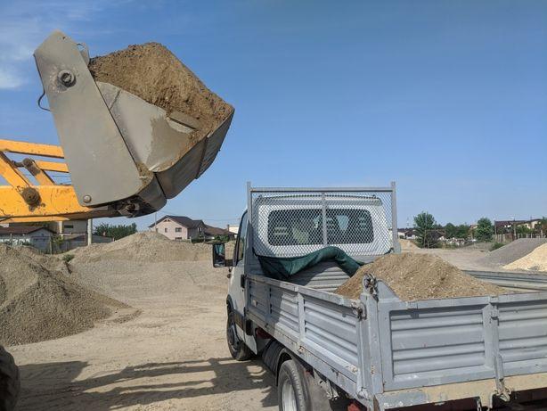 Transport nisip,balast,diverse mărfuri