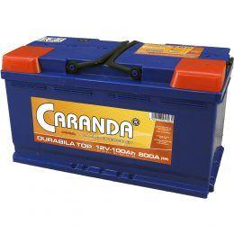 Baterie auto Caranda Durabila TOP 100Ah 800A Garantie 2 ani
