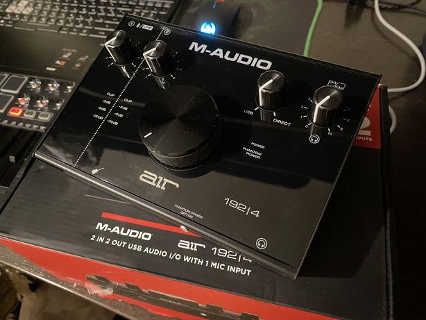 Звуковая карта M-audio air 192 4