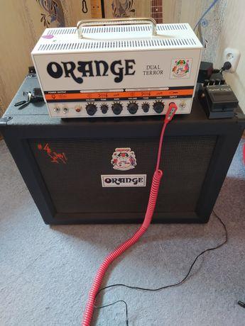 """Orange Dual Terror Amp plus Jim Root 2x12"""" Cabinet"""