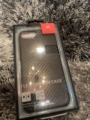 Husa iphone 6 Plus 7 Plus 8 Plus Flex Carbon
