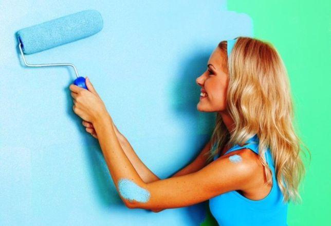 Безвоздушная покраска водоэмульсией