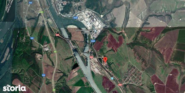 Spatiu industrial Cernavoda cu teren 54467 mp si hale