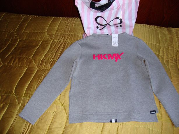 Hunkemoller pulover Sweater bonded Grey Marl marime M femei
