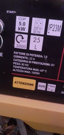 Generator curent OX.  5 Kw