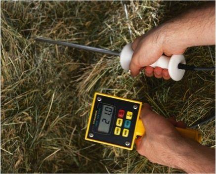 Umidometru fân si paie presate HMM (cu termometru pt. agricultura)