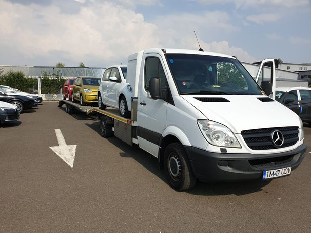 Transport auto masini slep / platforma Austria Germania Romania