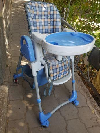Детский стульчик столик для кормления