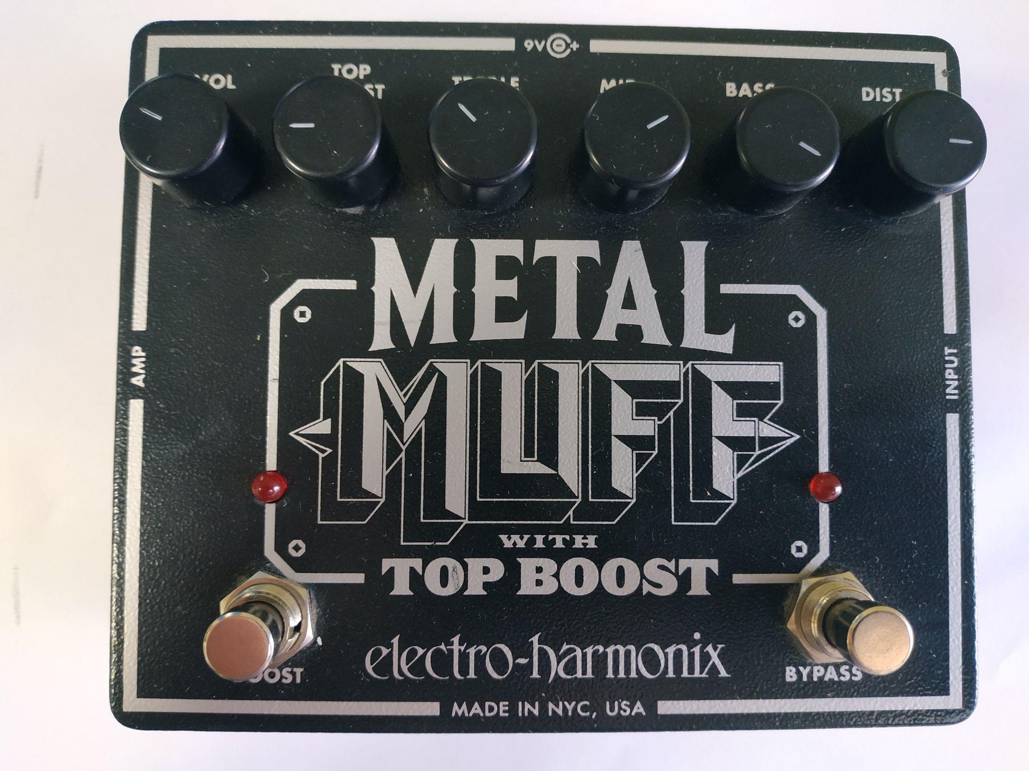 Гитарная педаль Metal Muff