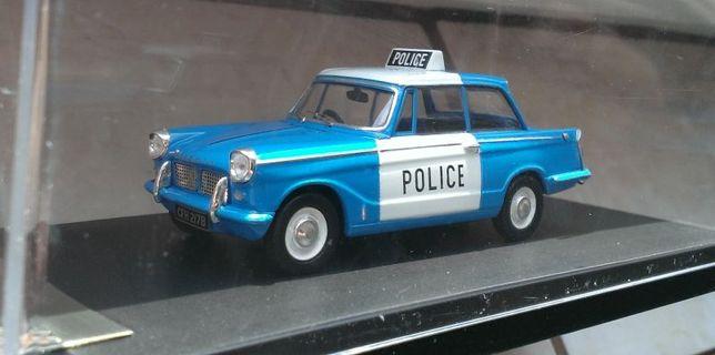 Macheta Triumph Herald Politia Engleza 1962 - PremiumX 1/43