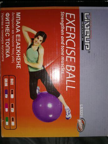 Фитнес топка за укрепване