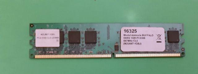 Memorie Buffalo 1GB DDR2, 667Mhz - Garantie 6 luni