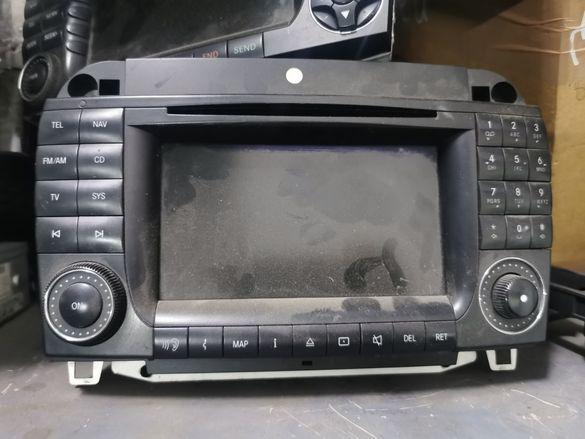 Навигация Mercedes S-Класа W220 Facelift Мерцедес NAVI