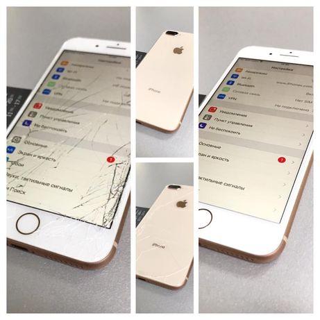 Замена стекла Айфон iPhone 8/7/6/6s/SE/5/5s/8+/7+/6+/plus ремонт 2020