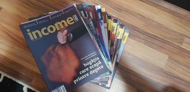 Vând colecția de reviste Income Magazine
