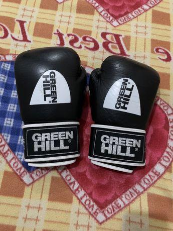 Боксерские Перчатки GREEN HILL Из Натуральной Кожи