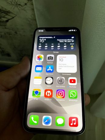 Iphone X белый, 64gb, в отличном состоянии, срочно продам
