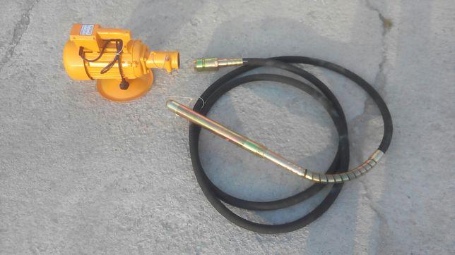 vand vibrator beton nou 2,2kw, 38mm