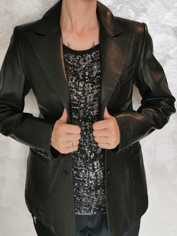 Ново дамско сако естествена кожа М/L