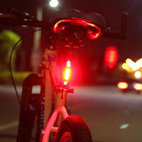 STOP SPATE USB rosu bicicleta fara baterii .