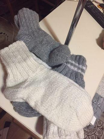 Носки шерстяные .