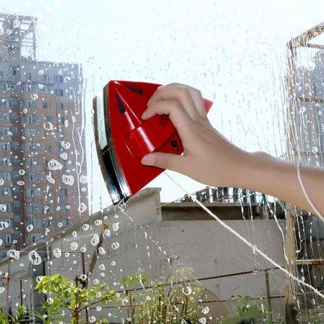 Магнитна четка за двустранно миене на прозорци, стъклопакети