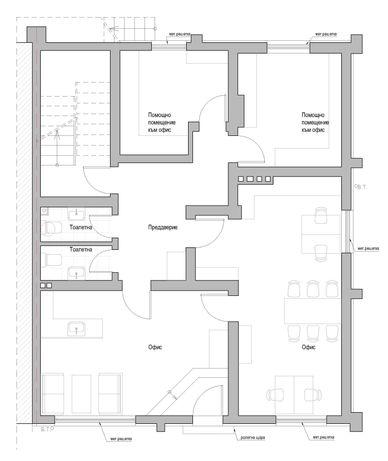 Етаж от жилищна кооперация в гр. Сандански за ползване, като офис