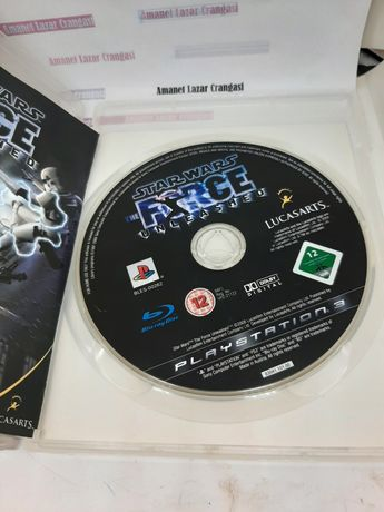 Star Wars The force unleashed Ps3 Amanet Lazar Crangasi 36890
