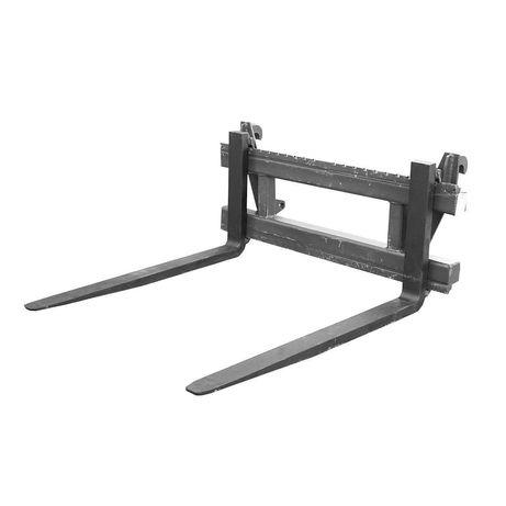 Set lame furci pentru paleti 80x40x1070mm cu cadru bk98555