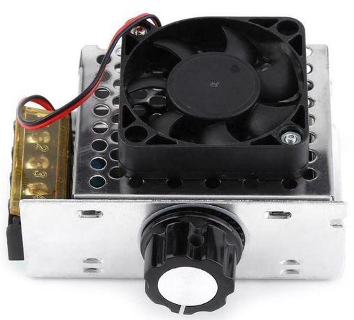 Variator tensiune regulator turatie motor cur alter cu venti 4KW 220V
