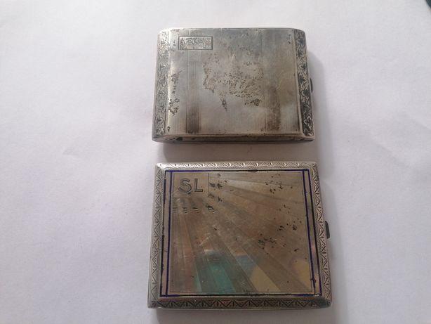 Tabachere vechi argint masiv