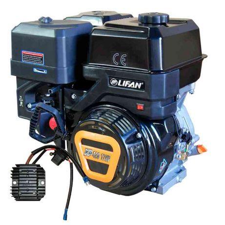 Двигатель LIFAN 17 л.с. для снегохода, трактора, погрузчика, насоса