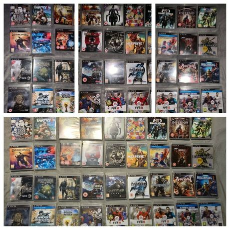 Jocuri Playstation 3 PS3 FIFA19 GTA 5 MINECRAFT NFS GOW