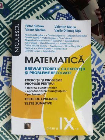 Culegere matematica M1 Clasa a IX-a