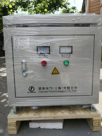 Трехфазный трансформатор понижающий 380V/36V.