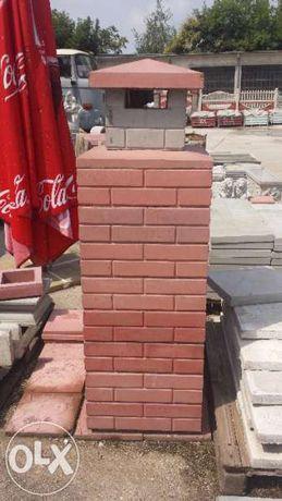 Модулен комин от бетон.