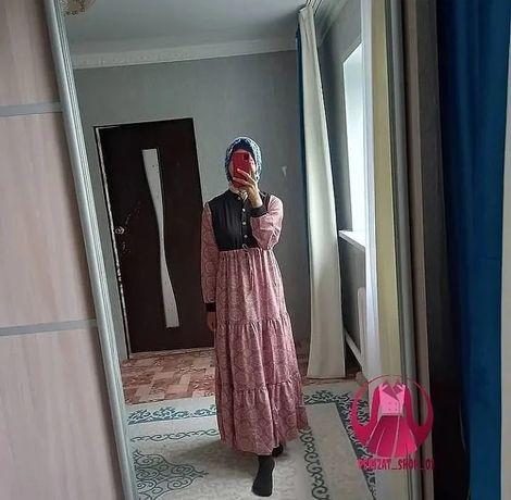 Длинное платье хиджаб от 3500 тг