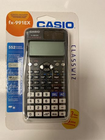 Calculator casio fx-991ex