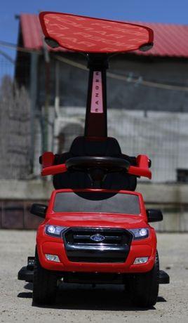 Carucior electric pentru copii 3 in 1 Ford Ranger STANDARD #RED