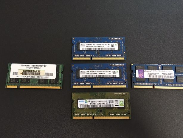 Memorii RAM Laptop / 1, 2 si 4 GB / DDR 2 si 3
