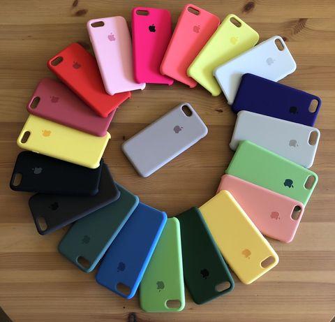 Силиконов кейс iPhone 7/8 7/8 Plus X Xs Xr Xs Max iPhone 11 11 Pro Max
