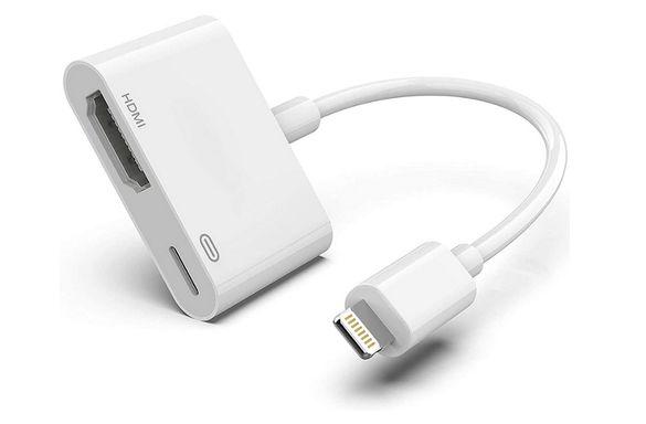 Преходник/Кабел от Lightning към HDMI за iPhone, iPad, iPod