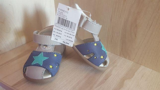 Sandalute piele nr 18