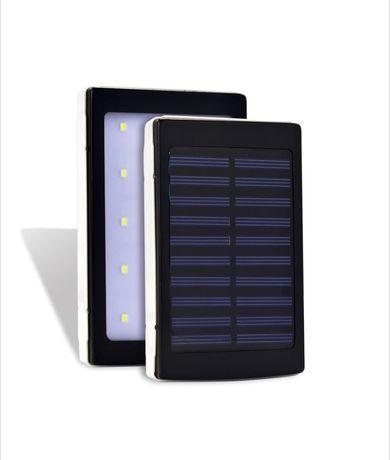Соларна Външна батерия 50000 mAh Power Bank Solar с 2 USB порта