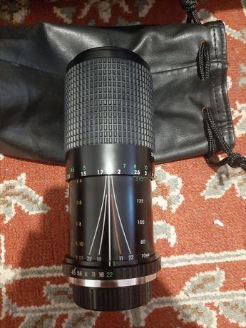 Cosina 70-210mm f / 4.5-5.6 MC Macro Zoom Lens Olympus OM Din Japonia