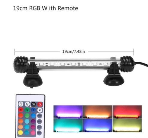 Lămpi LED acvarii submersibile cu/pe 6 culori