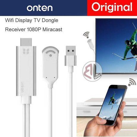 Безжичен WiFi кабел HDMI за iPhone Samsung Xiaomi Huawei LG Android