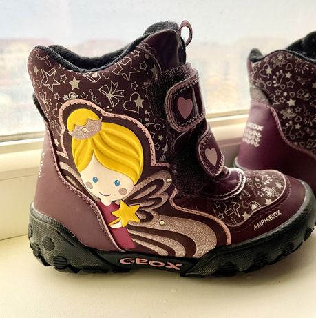 ботинки сапоги зимние geox 26 размер идеальное состояние