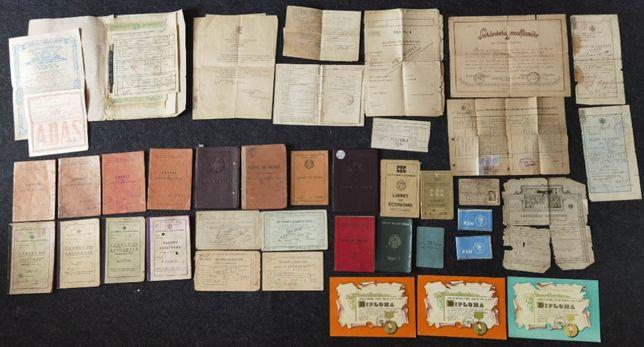 Acte si carnete vechi din Ploiesti / Prahova. Anii 1920-1966.